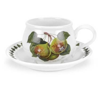 Чашка для завтрака с блюдцем Груша (270 мл) PRT-PL04155-E Portmeirion
