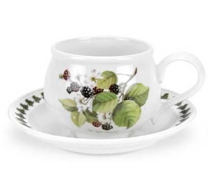 Чашка для завтрака с блюдцем Ежевика (270 мл) PRT-PL04155-D Portmeirion