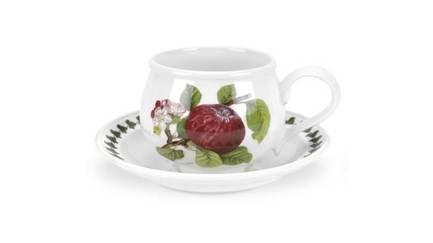 Чашка для завтрака с блюдцем Красное яблоко (270 мл) PRT-PL04155-B Portmeirion