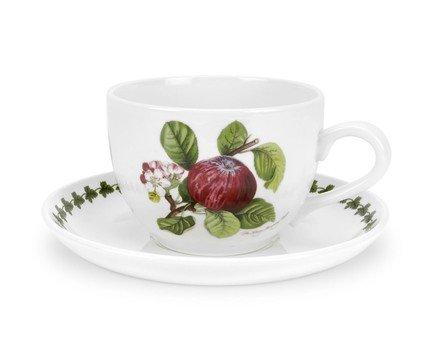 Чашка для завтрака с блюдцем Красное яблоко (500 мл) PRT-PL42000-B Portmeirion сок вимм билль данн агуша яблоко и персик с мякотью с 3 лет 500 мл