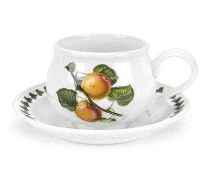 Чашка чайная с блюдцем Абрикос (200 мл) PRT-PL04105-C Portmeirion