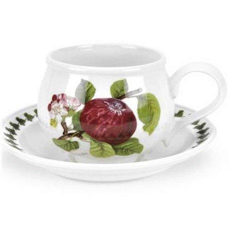 Чашка чайная с блюдцем Красное яблоко (200 мл) PRT-PL04105-B Portmeirion