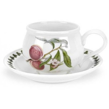 Чашка чайная с блюдцем Персик (200 мл) PRT-PL04105-F Portmeirion