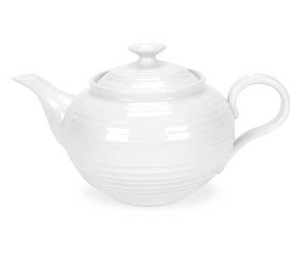 Чайник Софи Конран для Портмерион (1.1 л), белый PRT-CPW76828-X Portmeirion кувшин софи конран для портмерион 0 8 л белый prt cpw76817 x portmeirion