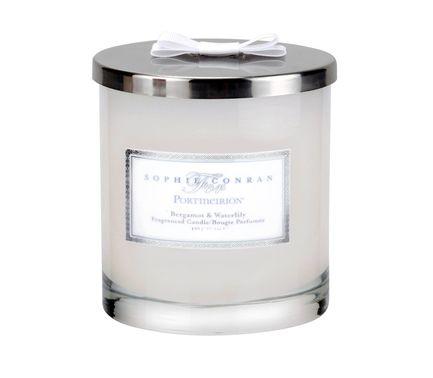 Свеча в банке с крышкой Софи Конран, с 2 фитилями, 10 см PRT-CPBW6301-XL Portmeirion