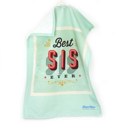 Полотенце кухонное Best sisters ever, 50x70 см