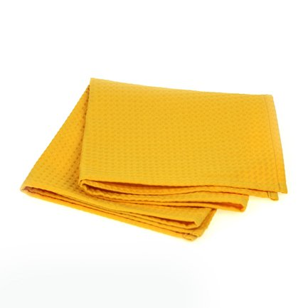 Полотенце банное SuperWaffle Yellow, 50x100 см