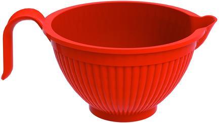 Миска для смешивания (2.3 л), 19.5 см, красная NRD68900 Nordic Ware