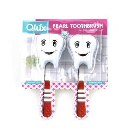 Держатель для зубной щетки Зубик, 6х4х3.5 см L600 Qlux держатель для зубной щетки би хэппи андрей 4 х 6 х 3 5 см