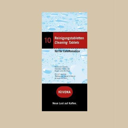 Таблетки для чистки гидросистемы NIRT 701, 10 шт. NIRT 701 Nivona