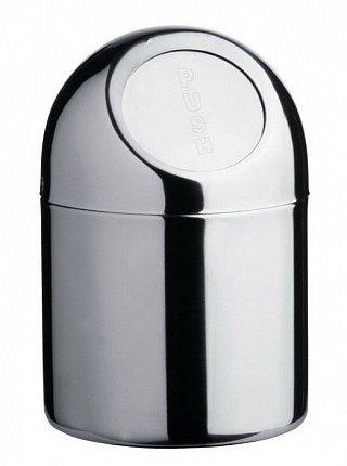 Контейнер косметический для ванной (1.3 л), хром