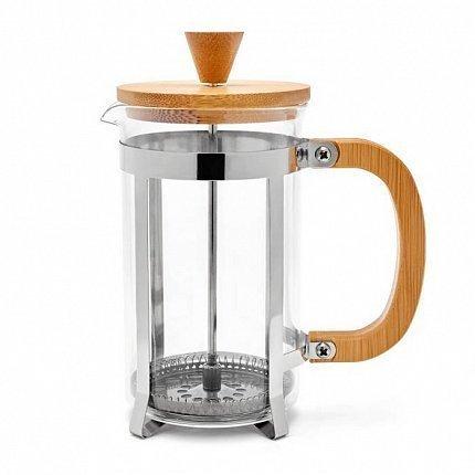 Кофейник френч-пресс Bamboo (0.6 л), светлое дерево W23001060 Walmer кофейник френч пресс 600 мл gefu кофейник френч пресс 600 мл