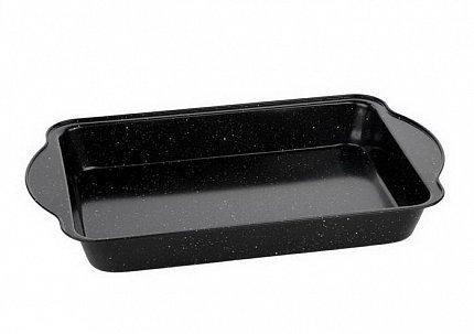 Форма для запекания Black Marble, 40.5х25.5х5.5 см, черная