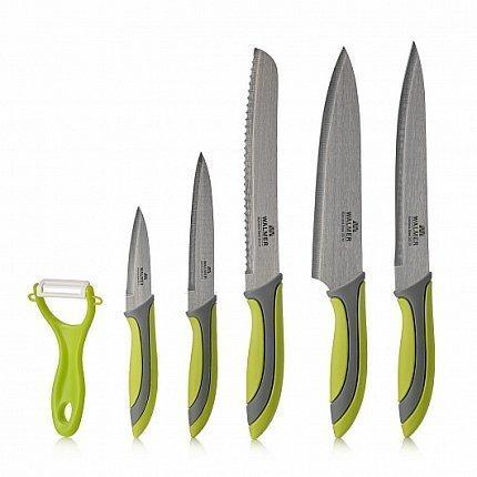 Набор ножей Vegan и овощечистка, 6 пр, в подарочной упаковке W21003560 Walmer набор для письма pip studio 17 02 19 761 в подарочной упаковке мультиколор