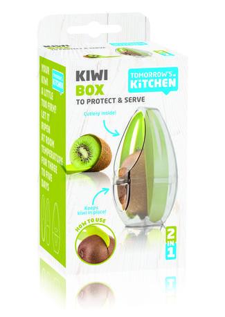 Набор для чистки, хранения и сервировки киви, 12.4х7.4 см 2860460 Tomorrow's Kitchen
