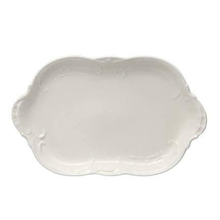 Блюдо овальное Sanssouci Ivory, 28 см RS4507 Rosenthal rosenthal selection sanssouci elfenbein молочник для 6 персон 0 19 л
