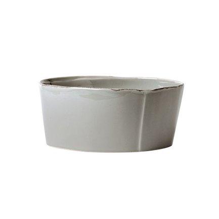 Чаша для супов Lastra, 15.5 см, серая VT1730 Vietri