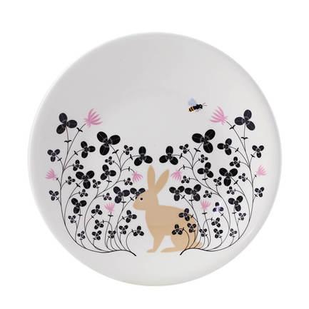 Тарелка закусочная Rabbit, 22 см
