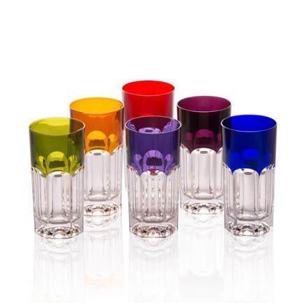 Набор стаканов для воды (360 мл), 15 см, 6 шт.