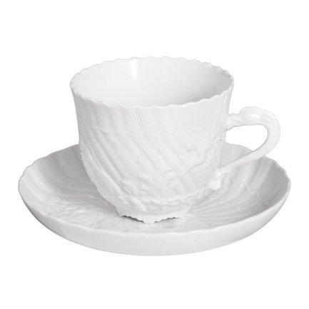 Чайная пара Swan (250 мл) MS1114 Meissen плакетка пасхальный колокольчик фарфор деколь золочение ручная работа скудельник россия