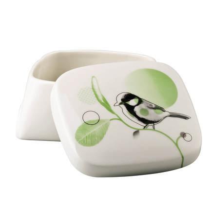 Шкатулка Cиничка Green Garden Birds, 10 см HCR1318 Hutschenreuther hutschenreuther basic vasen weiß ваза 10 см