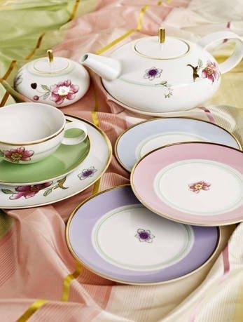 Чайный сервиз Avalon на 6 персон, 15 пр. VA1509 Vista Alegre чайный сервиз 15 предметов на 6 персон colombo золотой замок c2 ts 15 6962