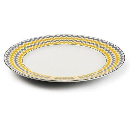 Тарелка Огненный павлин, 27 см 5300127 2372 Tunisie Porcelaine