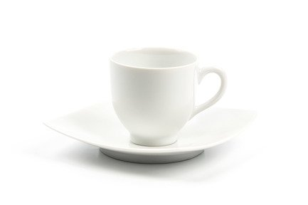цена Кофейная пара Monalisa (100 мл), белая 553510 Tunisie Porcelaine онлайн в 2017 году