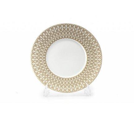 Тарелка Золотой Ажур, 27 см 830127 2302 Tunisie Porcelaine
