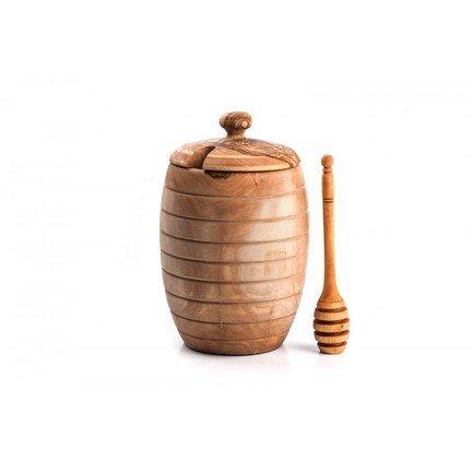 Бочонок для меда с большой ложкой ОЛИВА13 Tunisie Porcelaine