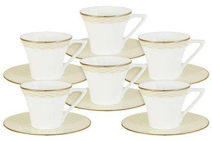 Кофейный набор Бриз Голд (110 мл), 12 пр. N96732-52566 Narumi кофейный набор narumi breeze gold 12 предметов