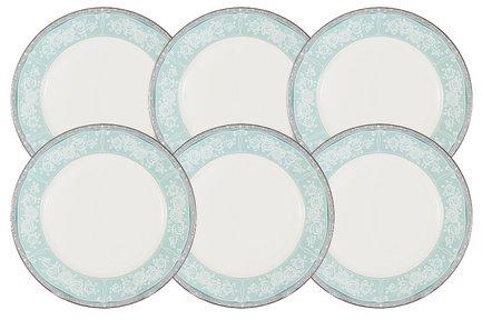 Набор десертных тарелок Прикосновение, 21 см, 6 шт. N51707-54149 Narumi набор тарелок 21 см 6 шт narumi