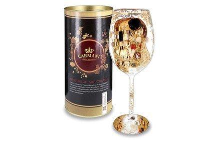 Бокал для вина Поцелуй (Г. Климт) (450 мл), 24 см CAR841-3401 Carmani