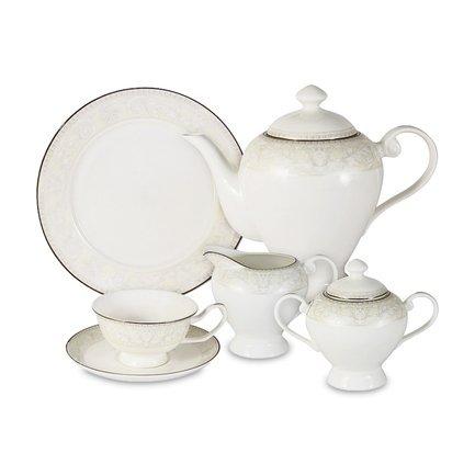 Чайный сервиз Белгравия на 6 персон, 21 пр. AL-G10Q04-02_21M-E6 Anna Lafarg