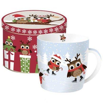 Кружка Christmas Owls (350 мл), в подарочной упаковке