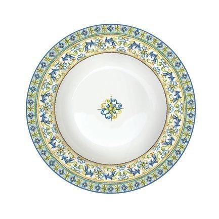 Тарелка суповая Капри, 21.5 см EL-R0943_CAPB Easy Life (R2S) тарелка суповая капри 21 5 см el r0943 capb easy life r2s