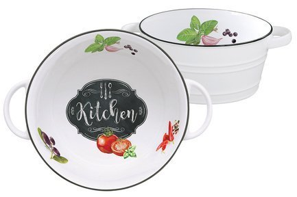Салатник малый Кухня в стиле Ретро, 12 см EL-R1616_KIBK Easy Life (R2S) салатник малый амазония 12 см el r1585 amaz easy life r2s