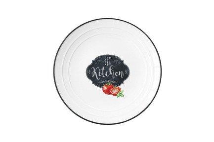 Тарелка Кухня в стиле Ретро, малая, 16 см EL-R1622_KIBK Easy Life (R2S)