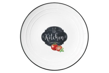 Тарелка Кухня в стиле Ретро, 21.5 см EL-R1623_KIBK Easy Life (R2S)