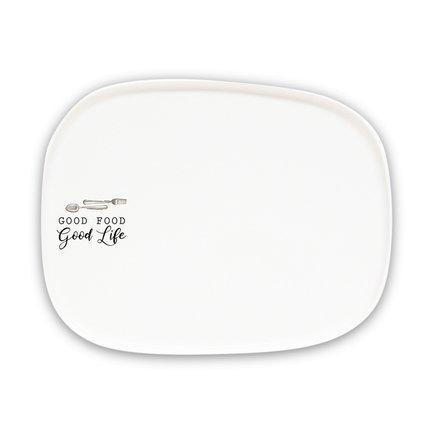 Тарелка закусочная Kitchen Elements, 20.5х16 см EL-R1902_KITE Easy Life (R2S) тарелка закусочная парадайз 19 см el r1582 para easy life r2s