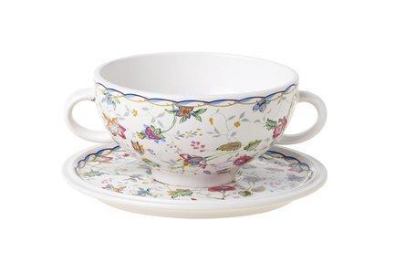 Суповая чашка Букингем (0.5 л) на блюдце IMB0304-A218AL IMARI