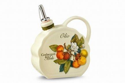Бутылка для масла Итальянские фрукты (0.55 л) NC7386-CEM-AL Nuova Cer цена