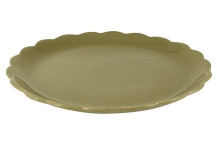 Тарелка подстановочная Тыква, 32.5 см NC7411-VOL-AL Nuova Cer заварочный чайник 1 0 л nuova cer тыква nc7360 odn al