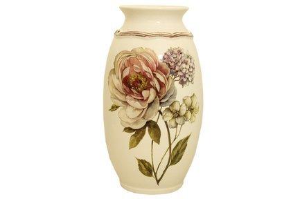 Фото - Ваза для цветов Сады Флоренции, 30 см LCS008_30-BO-AL LCS подставка для кухонных принадлежностей lcs сады флоренции 12 14 5 см