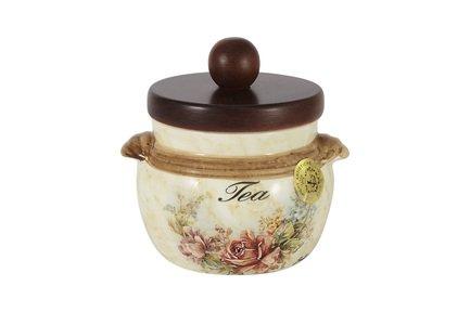 Банка для чая с деревянной крышкой Элианто (0.5 л) LCS670PLT-EL-AL LCS
