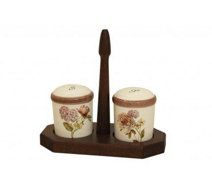 цена на Набор для специй на деревянной подставке Сады Флоренции LCS873L-BO-AL LCS