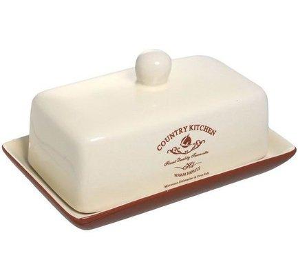 Масленка Кухня в стиле Кантри TLY288-CK-AL Terracotta масленка harmony 19 12 5 7см подарочная упаковка