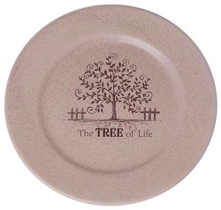 Закусочная тарелка Дерево жизни, 21 см TLY802-2-TL-AL Terracotta