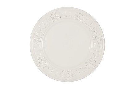 Тарелка закусочная Venice, 23 см, белая MC-F430900005D0053 Matceramica