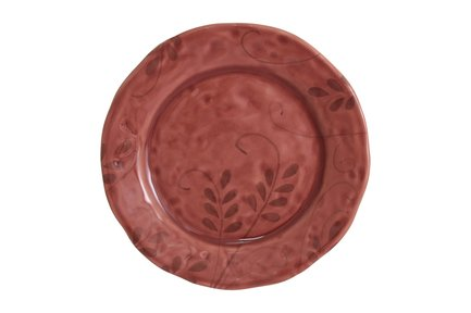 Тарелка закусочная Листопад, 22 см, бордо MC-F443401068D0322 Matceramica